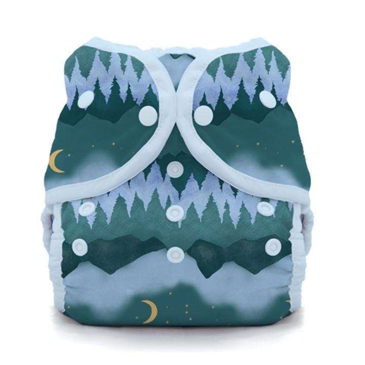 Thirsties reusable cloth nappy cover wrap Mountain