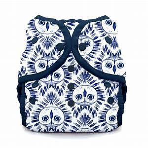 Thirsties reusable cloth nappy cover wrap owls