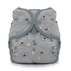 Thirsties reusable cloth nappy cover wrap over the moon