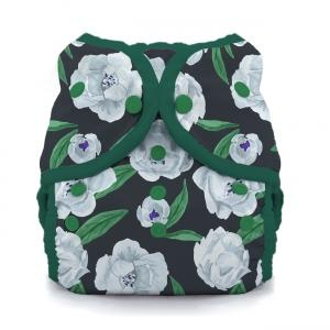 Thirsties reusable cloth nappy cover wrap Peony