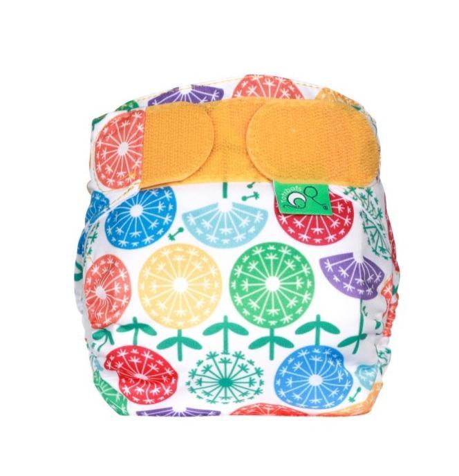 Tots bots Teenyfit star bamboo reusable cloth nappy