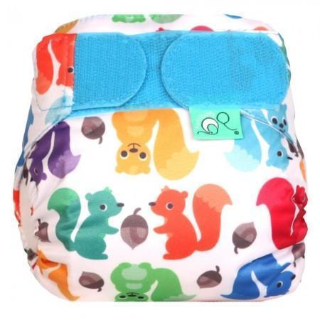 tots bots teenyfit newborn cloth nappy