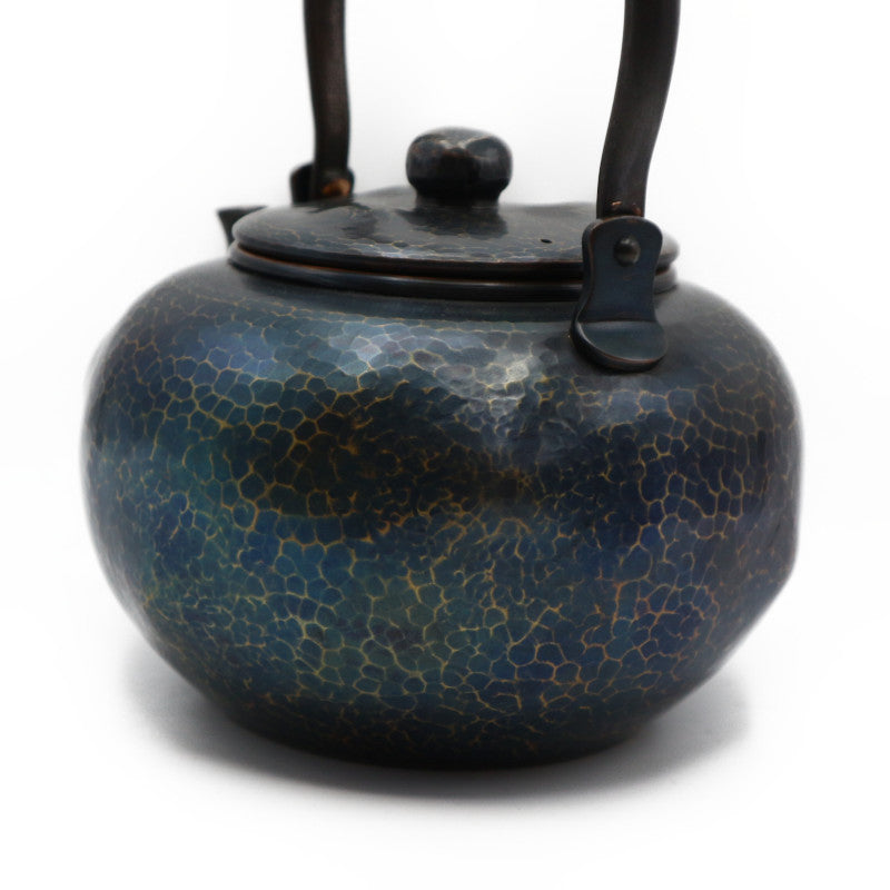 Copper Kettle Iron Blue 1.4L