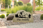 Custom Engraved Sandstone Sign