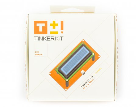 TinkerKit Tutorial: LCD: 02 – Introduction to LCD