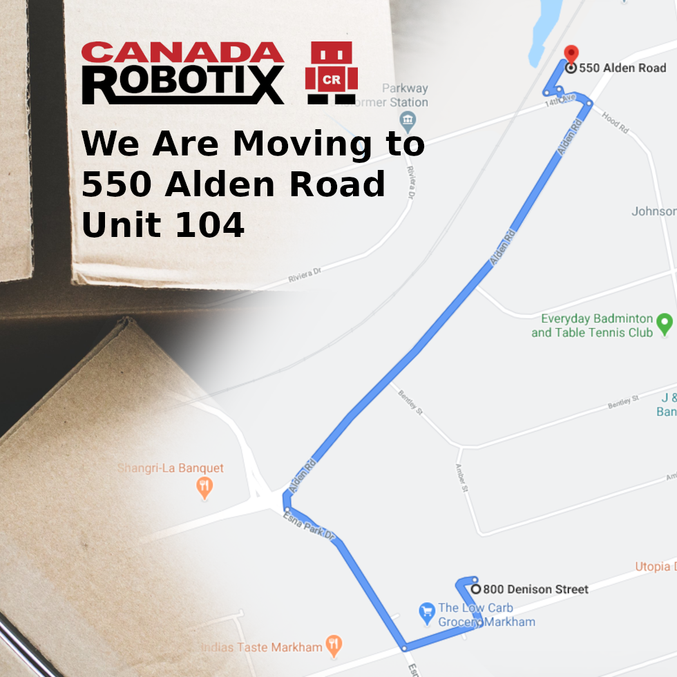 We are moving to 550 Alden Road