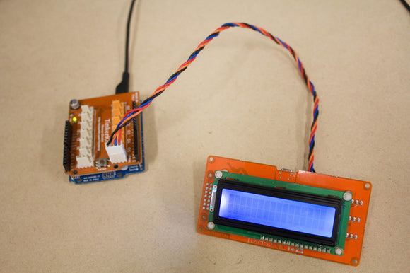 TinkerKit Tutorial: LCD: 03 – LCD Serial