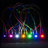 SparkFun LilyPad Rainbow LED Panel (5 strips of 7 colors)