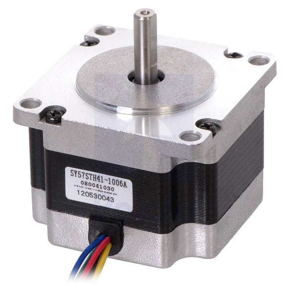 Stepper Motor NEMA 23 (Unipolar/Bipolar, 200 Steps/Rev, 57x41mm, 5.7V, 1 A/Phase)