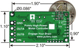 Pololu High-Power Motor Controller 18v15 (15A 5.5V-30V) (Kit)
