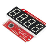 SparkFun OpenSegment Shield (White 20mm)
