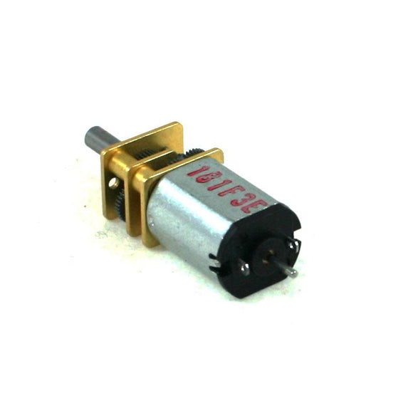 Pololu 75:1 Micro Metal Gearmotor HP with Extended Motor Shaft