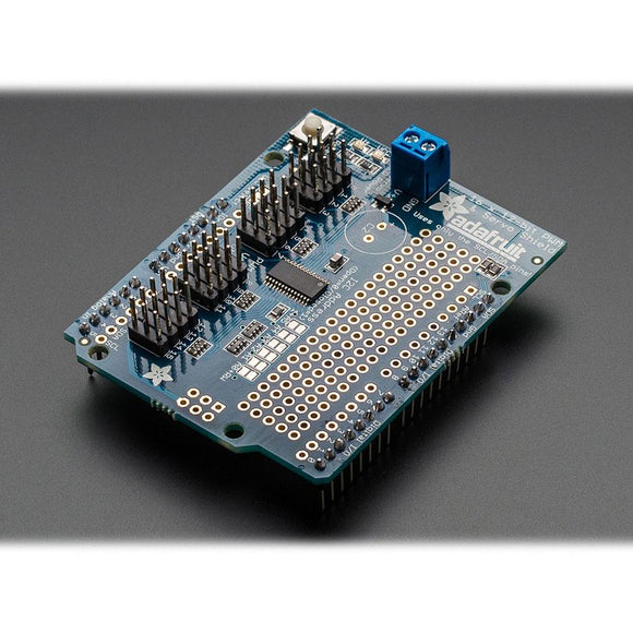 Adafruit 16-Channel 12-bit PWM/Servo Shield using I2C interface