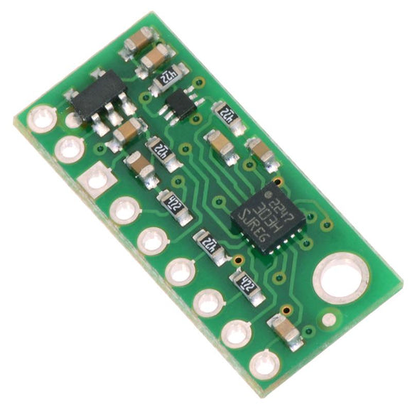 Pololu 3D Compass and Accelerometer (LSM303D) Carrier with Voltage Regulator
