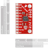 SparkFun 9 Degrees of Freedom (MPU-9150) Breakout