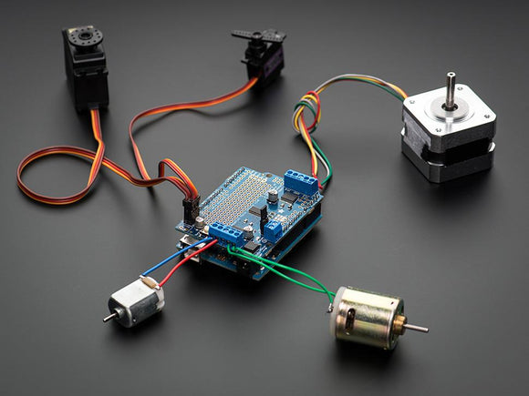 Adafruit Motor/Stepper/Servo Shield for Arduino (v2.3)