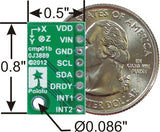 Pololu 3D Compass and Accelerometer Carrier with Regulator (LSM303DLHC)