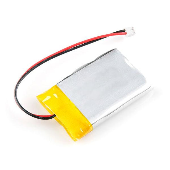 Lithium-Ion Polymer (LiPo) Battery (3.7V 800mAh)