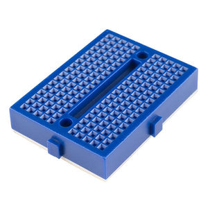 Mini-Breadboard Modular with Self-Adhesive (170 Tie Point Blue)