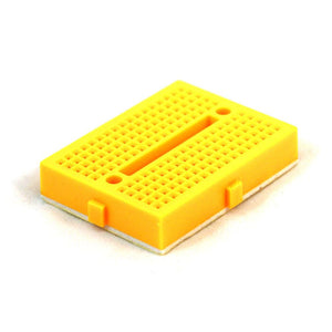 Mini-Breadboard Modular with Self-Adhesive (170 Tie Point Yellow)