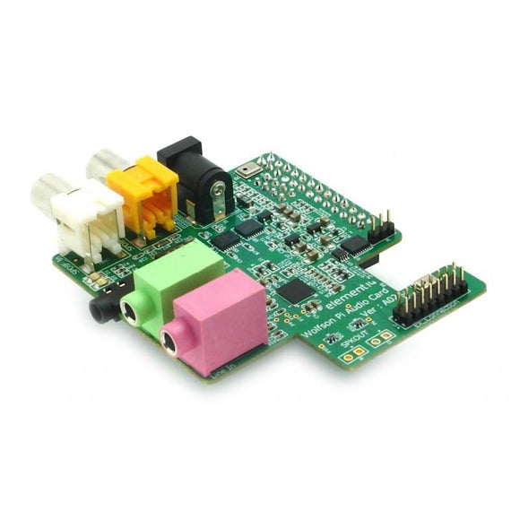 Wolfson Audio Card (for Raspberry Pi Only)