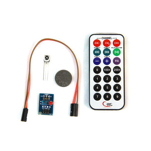 Infrared 3-in-1 Kit (Remote Control + IR Receiver + Breakout Board)