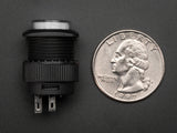 16mm Illuminated Pushbutton (White Momentary)