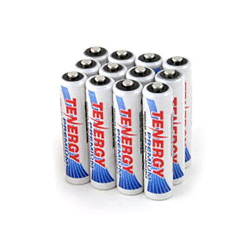Tenergy Premium AAA 1000mAh High Capacity NiMH Rechargeable Battery (12-Pack)