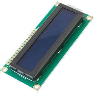 Basic 16x2 Character LCD (White on Blue 5V)