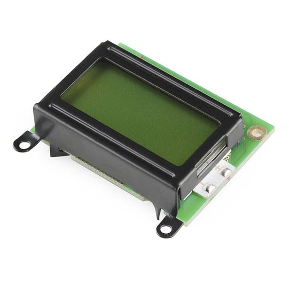 Basic 8x2 Character LCD (Black on Green 5V)