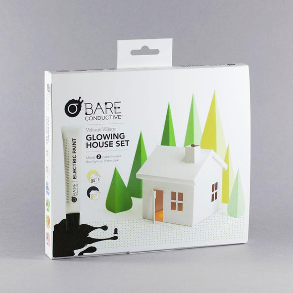 BARE Conductive Glowing House Set Voltage Village