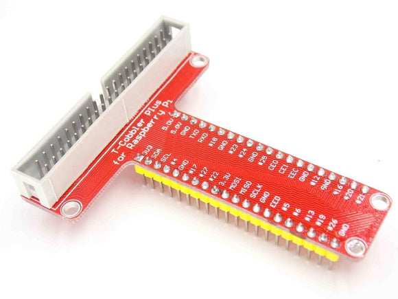 GPIO T-Cobbler Breakout For Raspberry Pi Model 2 B, B+ and A+ (40-pin)