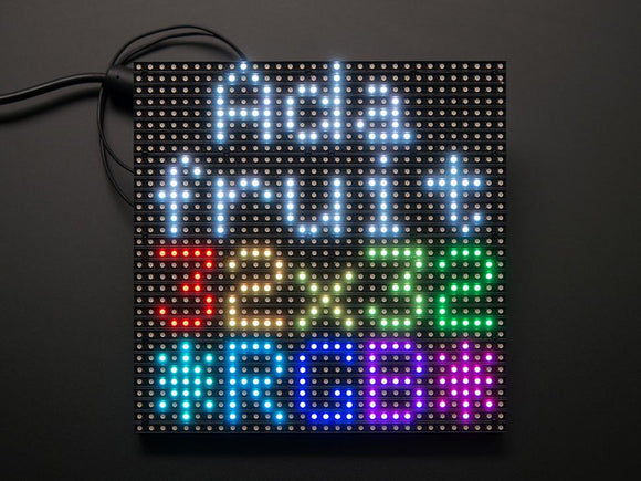 32x32 RGB LED Matrix Panel (6mm pitch)