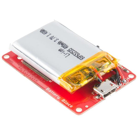SparkFun Block for Intel Edison - Battery