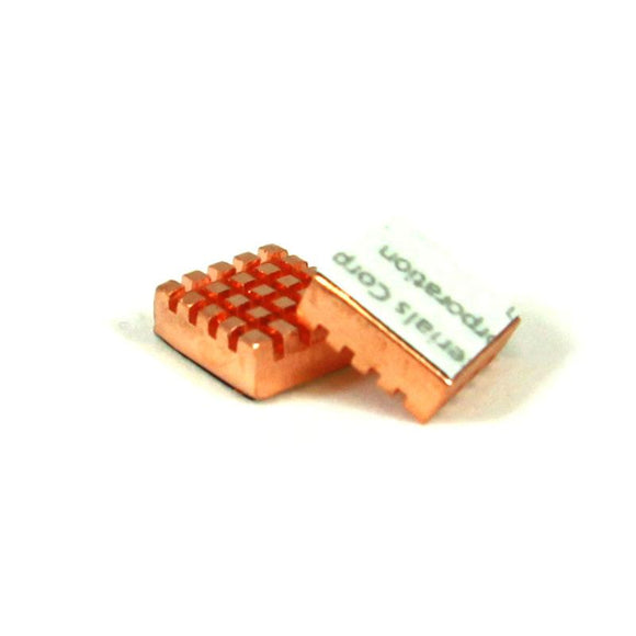Fine Copper Heat Sink (2-pack)