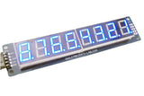 8-Digit SPI 7-Segment LED Display (Blue)