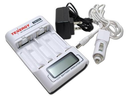 Tenergy TN156 4-Slot AA / AAA Smart Battery Charger with LCD indicator