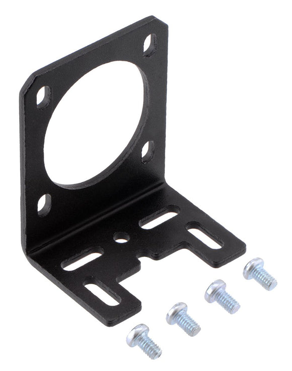 Aluminum L-Bracket for NEMA 14 Stepper Motors