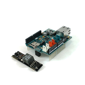 Arduino Ethernet SHIELD 2 WITH PoE in Canada Robotix