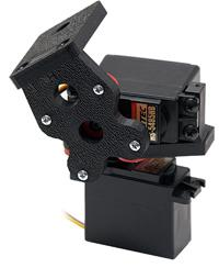 Direct Drive Pan & Tilt System for Hitec (24T) Servo (No servos)
