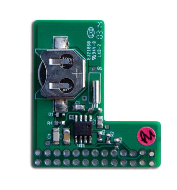 PiFace Shim RTC Real Time Clock for Raspberry Pi