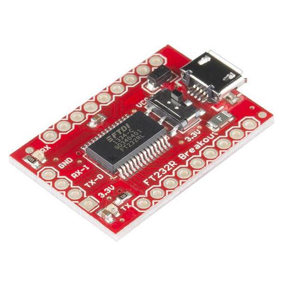 SparkFun USB to Serial Breakout (FT232RL)