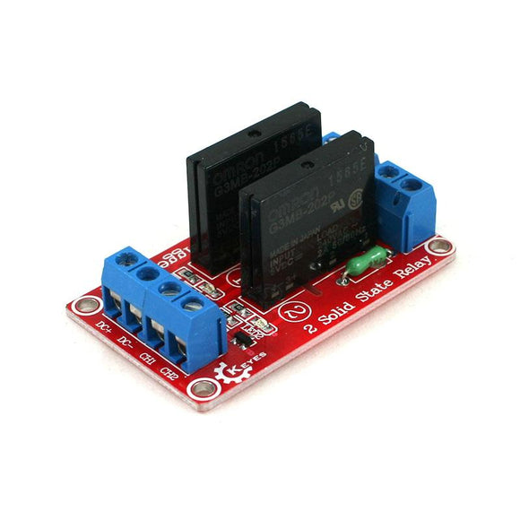 2-Channel Solid State Relay Module (5VDC - 250V 2A)