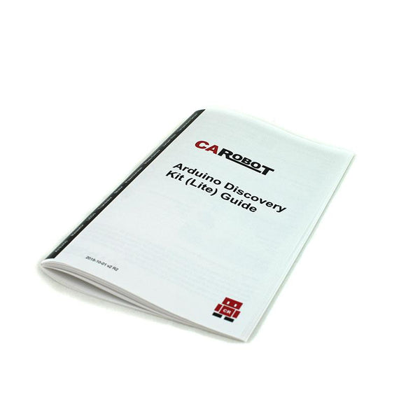 CAROBOT Arduino Discovery Kit (Lite) Guide Book