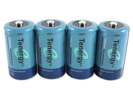 Tenergy NiMH Rechargeable Battery (4x D 10,000mAh)