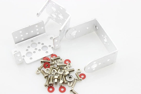 Bracket Kit For Servo (Silver Colour)