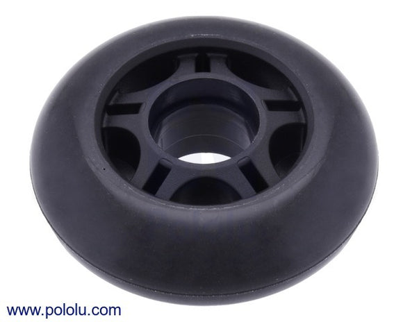 Scooter/Skate Wheel 70x25mm (Black)