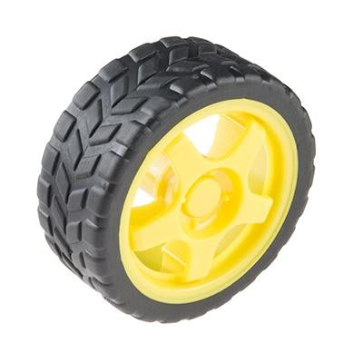 Wheel - 65mm (Rubber Tire)