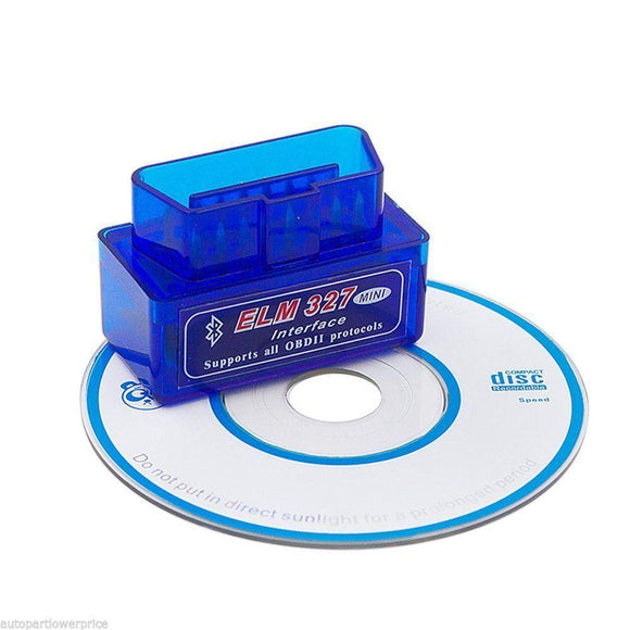 ELM327 OBD2 Car Diagnostics Bluetooth Adapter (v2.1)