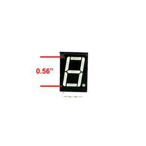 LED 7-Segment Display (0.56 inch Red)